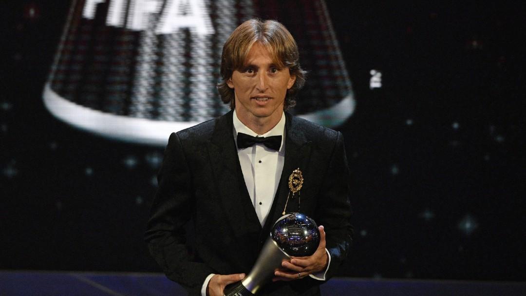 Modric gana el 'The Best' al mejor jugador de la temporada