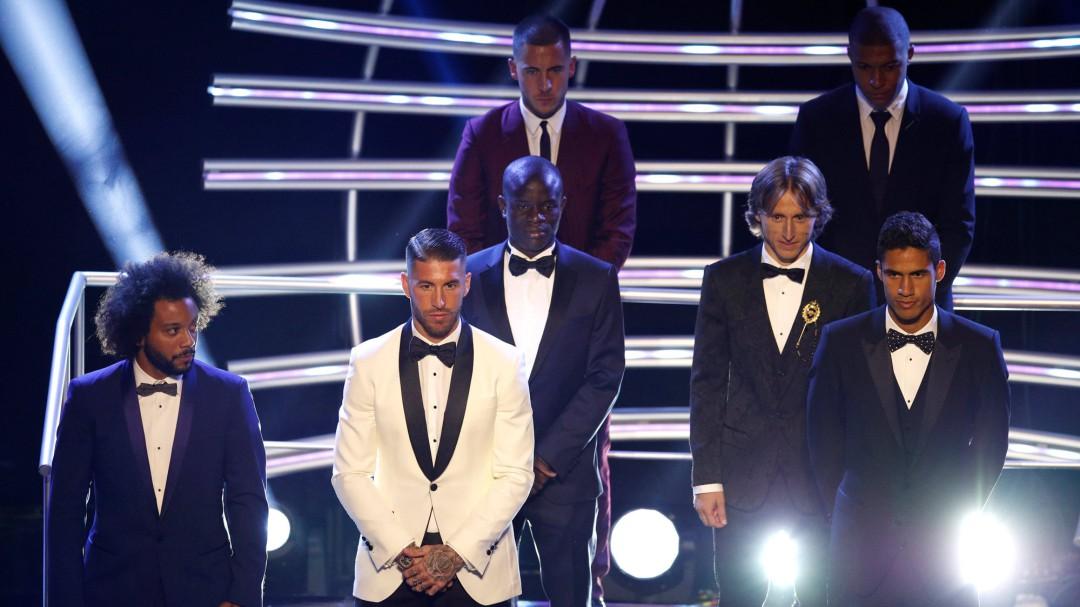 Dos españoles, cinco del Madrid y solo Messi del Barça en el once ideal de la FIFA