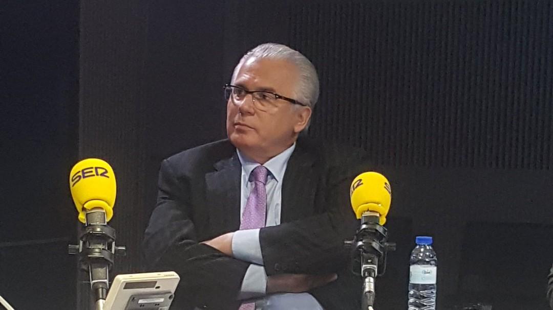 """Baltasar Garzón defiende a Delgado: """"Es una campaña deleznable con una conversación sacada de contexto"""""""