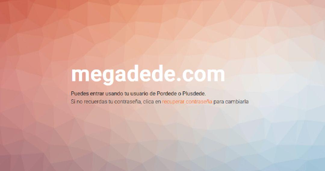 La web pirata para ver series y películas 'Plusdede' renace como 'Megadede'