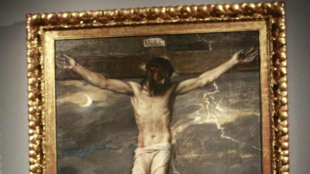 Un Tiziano del monasterio de San Lorenzo de El Escorial sufre desprendimiento de pintura