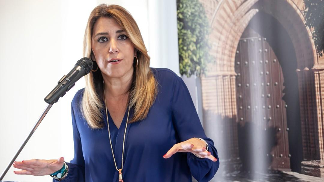 Susana Díaz comunicará en unos días la fecha de las elecciones andaluzas