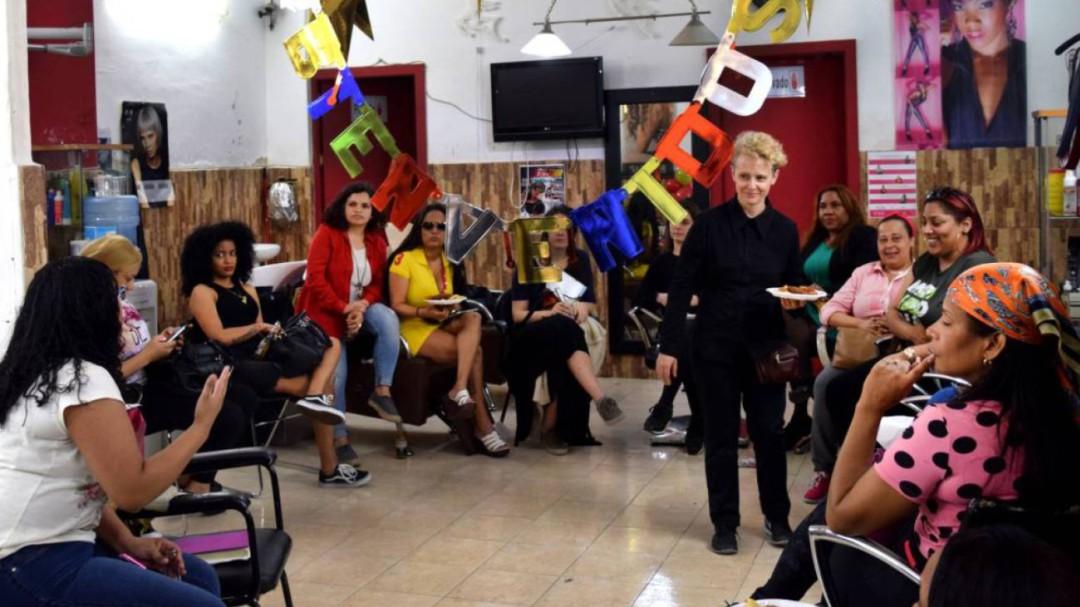 Una web feminista para cambiar la imagen de la calle Topete