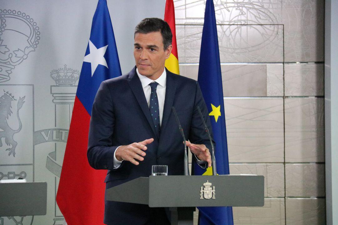 El insólito membrete del pacto Sánchez - Iglesias para los Presupuestos
