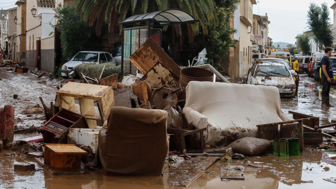 El cóctel explosivo que ha derivado en la destructiva tormenta de Mallorca