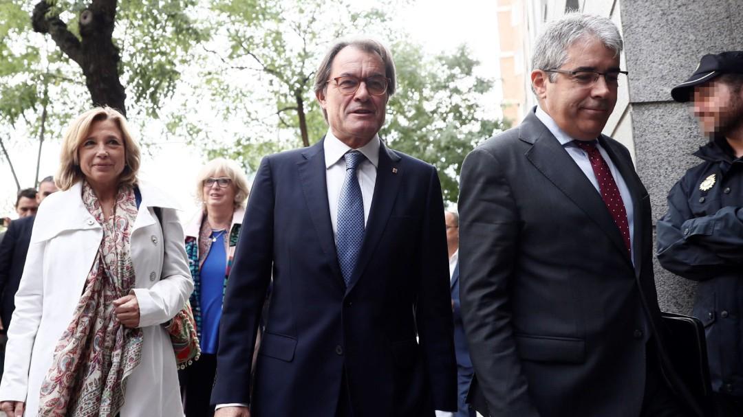 Artur Mas sobre el 9-N: No era en absoluto consciente de cometer ninguna ilegalidad