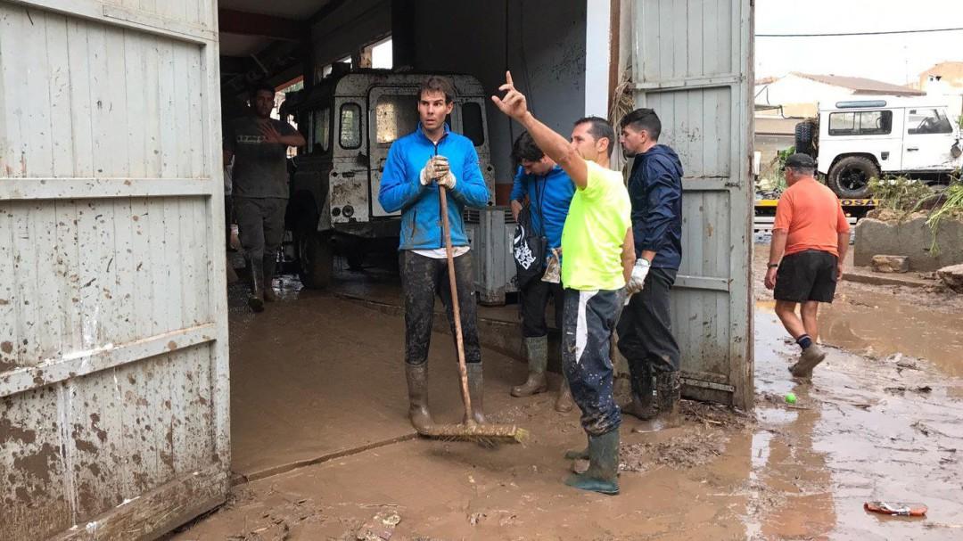 Toni Nadal: En el ánimo de Rafael está ayudar y no salir en la prensa por ayudar