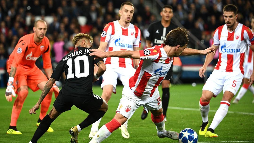 Investigan el PSG - Estrella Roja por un posible fraude de apuestas, según L'Équipe