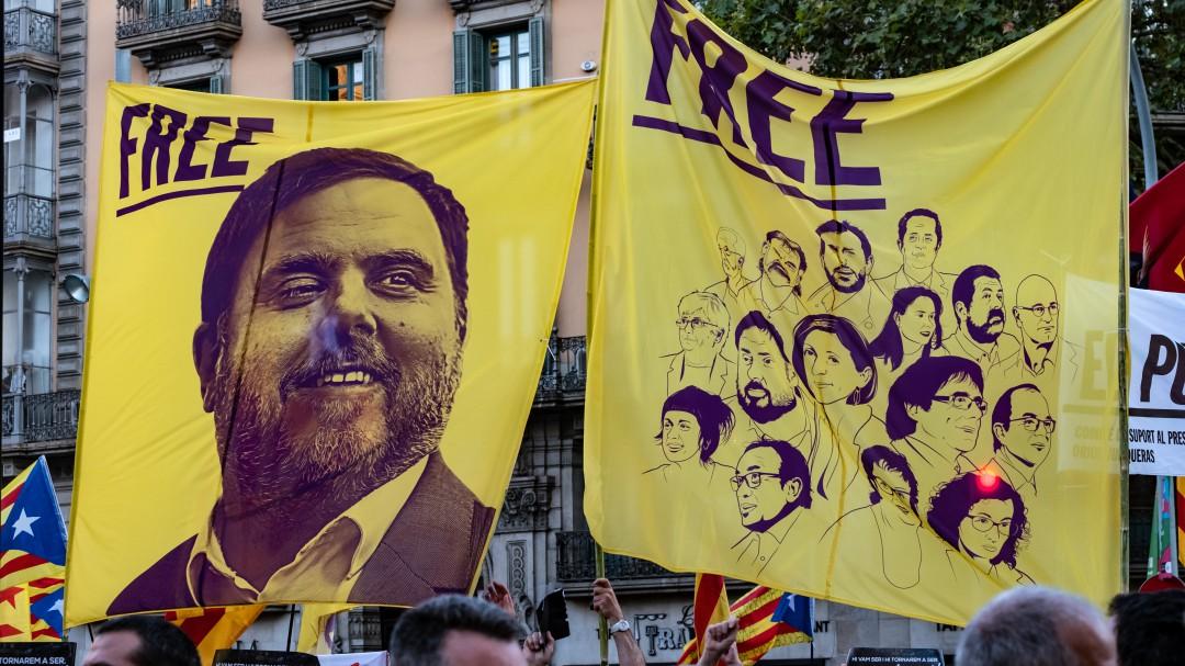 La Fiscalía pedirá las penas mínimas establecidas para la rebelión para los líderes independentistas
