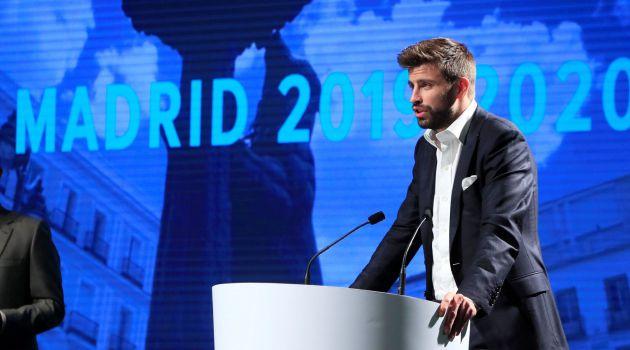 Piqué presentó nueva Copa Davis para 2019 en España