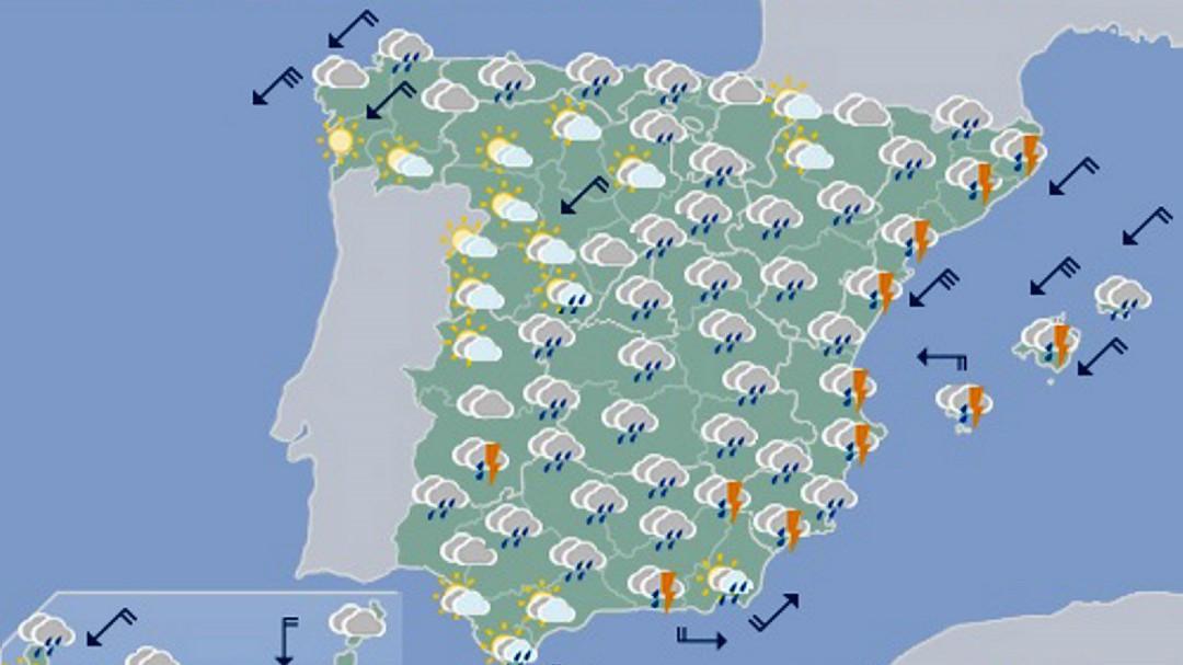 Alerta por cuatro días de fuertes lluvias y riesgo de crecidas y desbordamientos