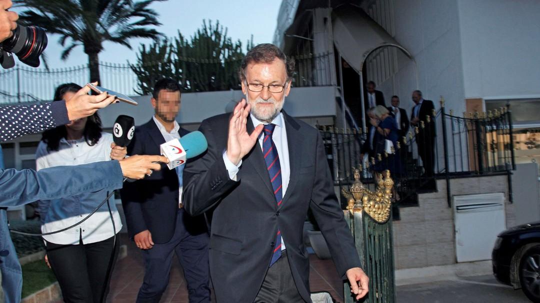 """Rajoy: """"Yo estoy a favor de los banqueros, todo el mundo los critica; yo, no"""""""