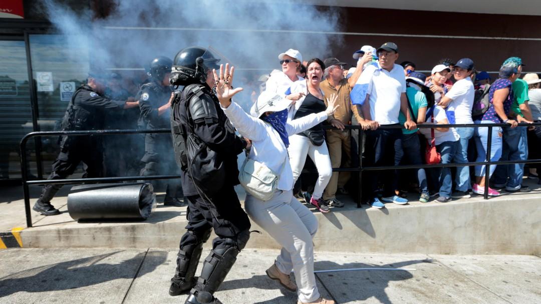 """La """"operación limpieza"""" en Nicaragua"""