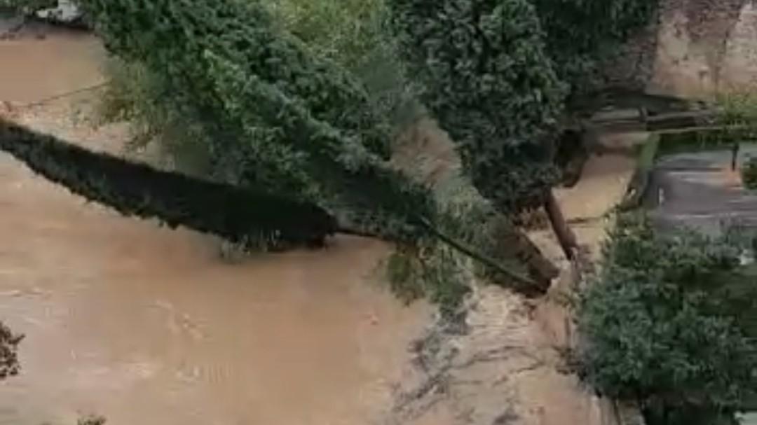 Las fuertes lluvias ponen en jaque a la Serranía de Ronda
