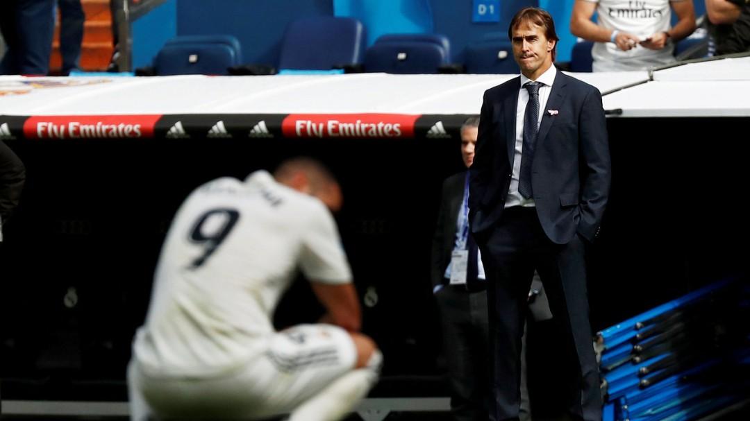 """El vestuario del Real Madrid considera a Lopetegui inferior a su nivel"""