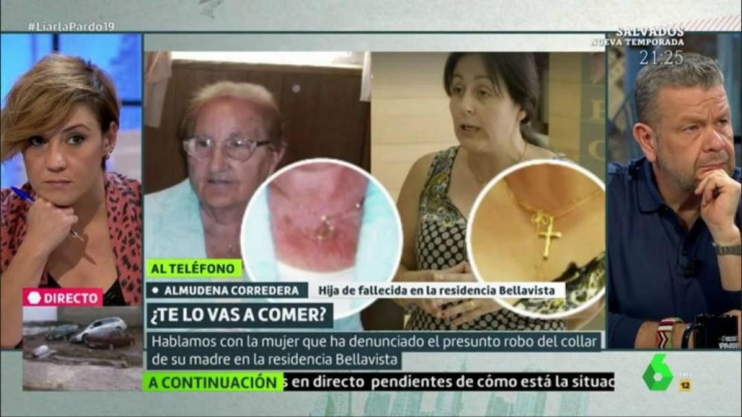 El programa de Chicote denuncia a la directora de una residencia por el robo de joyas a ancianos