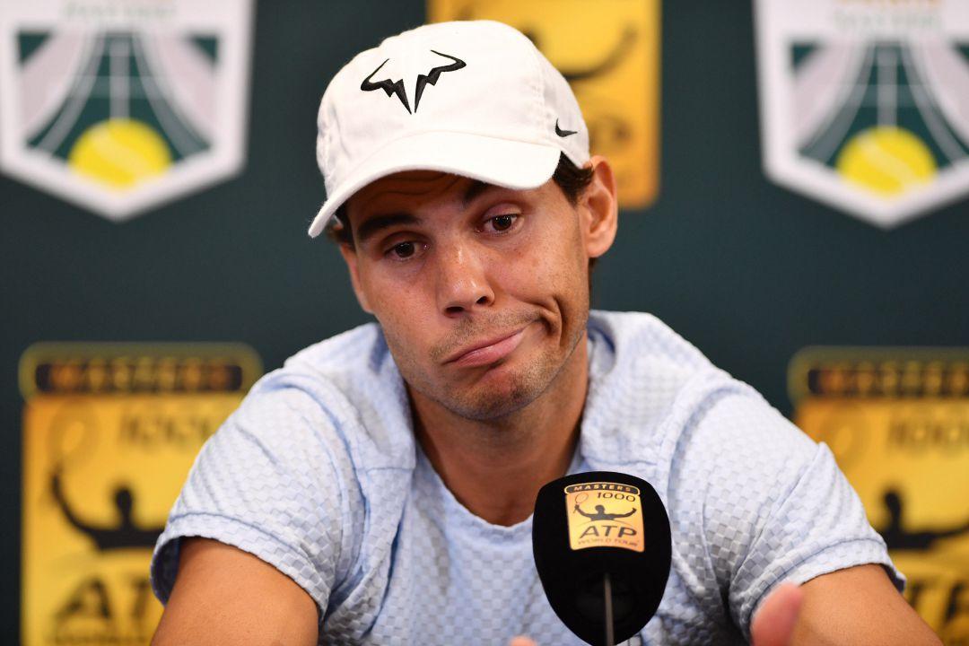 Nadal planea su regreso tras lesión para Masters de París