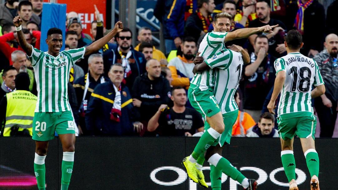 Setién asalta el Camp Nou