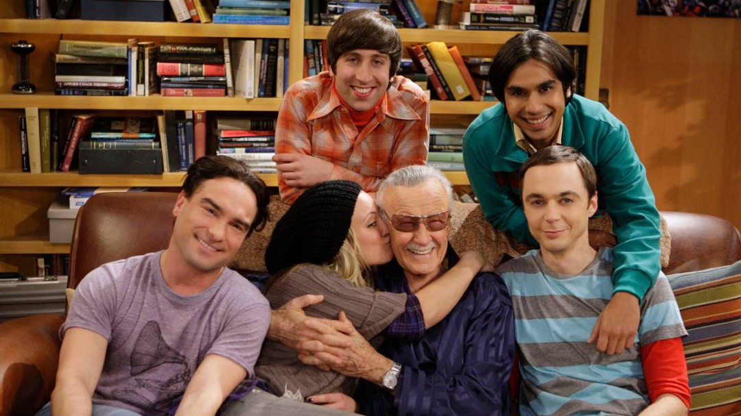 El emotivo mensaje de despedida de 'The Big Bang Theory' a Stan Lee