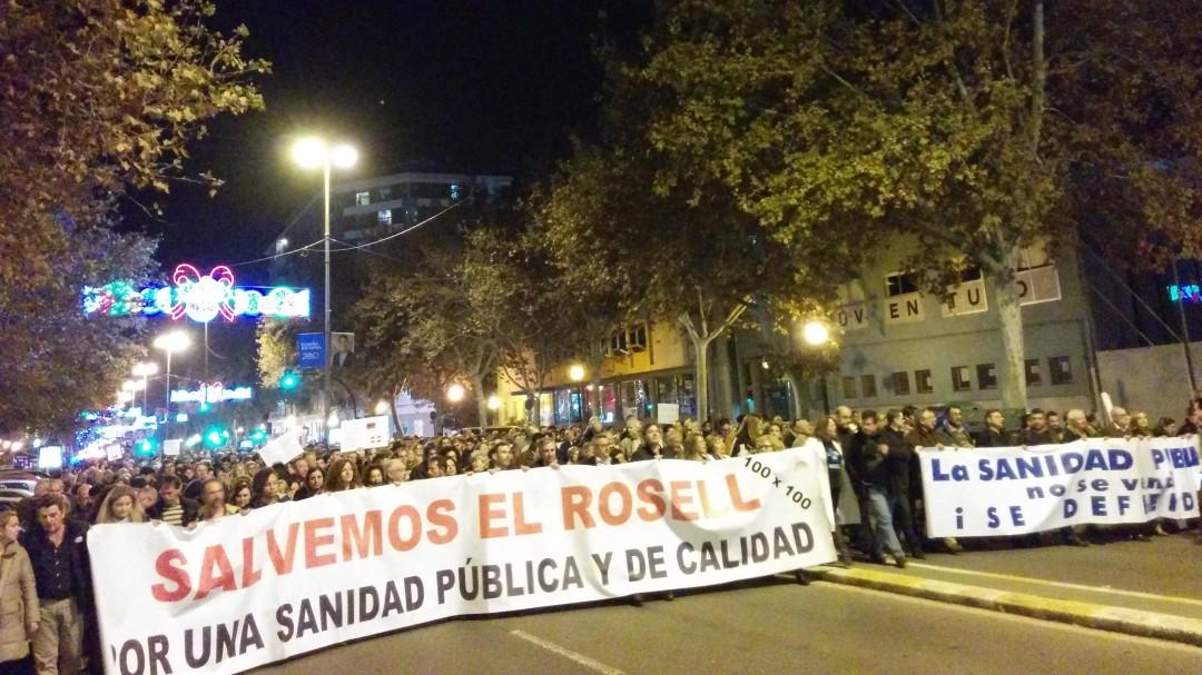 La Plataforma 'Salvemos el Rosell' prepara una gran movilización en Cartagena