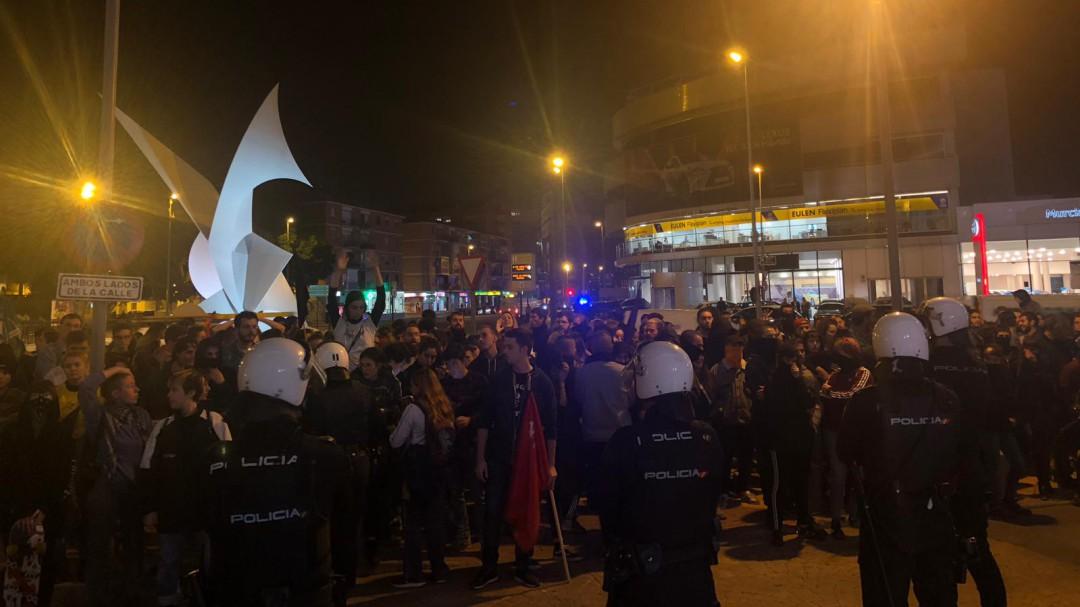 8 meses de cárcel para los detenidos en la manifestación contra VOX