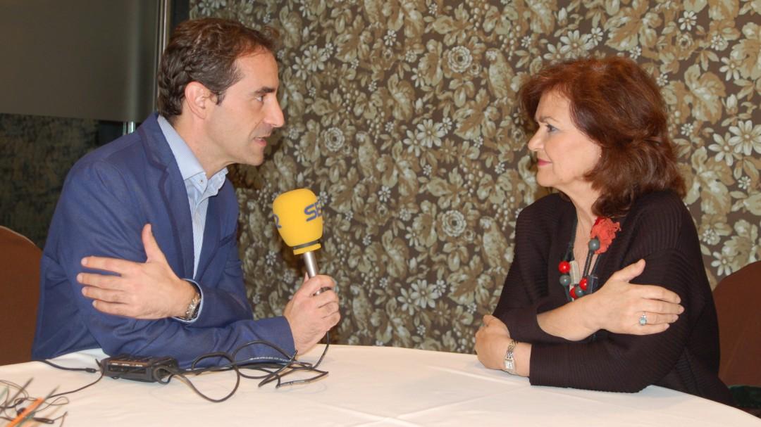 """Carmen Calvo: """"España saldrá de la resignación a la que la sometió el PP"""""""