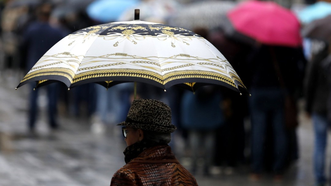 Una ciclogénesis dejará fuertes lluvias y viento en casi toda la Península este domingo