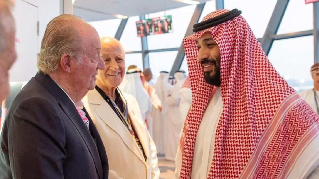 Críticas de PSOE, Podemos y Cs a la foto de Juan Carlos I con el príncipe saudí