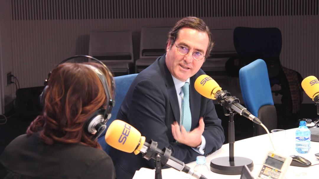 Antonio Garamendi: La jubilación forzosa va a servir para crear empleo de calidad en los jóvenes