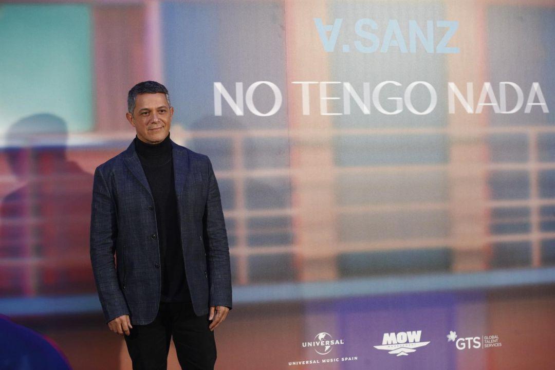 Alejandro Sanz anticipa su próximo álbum