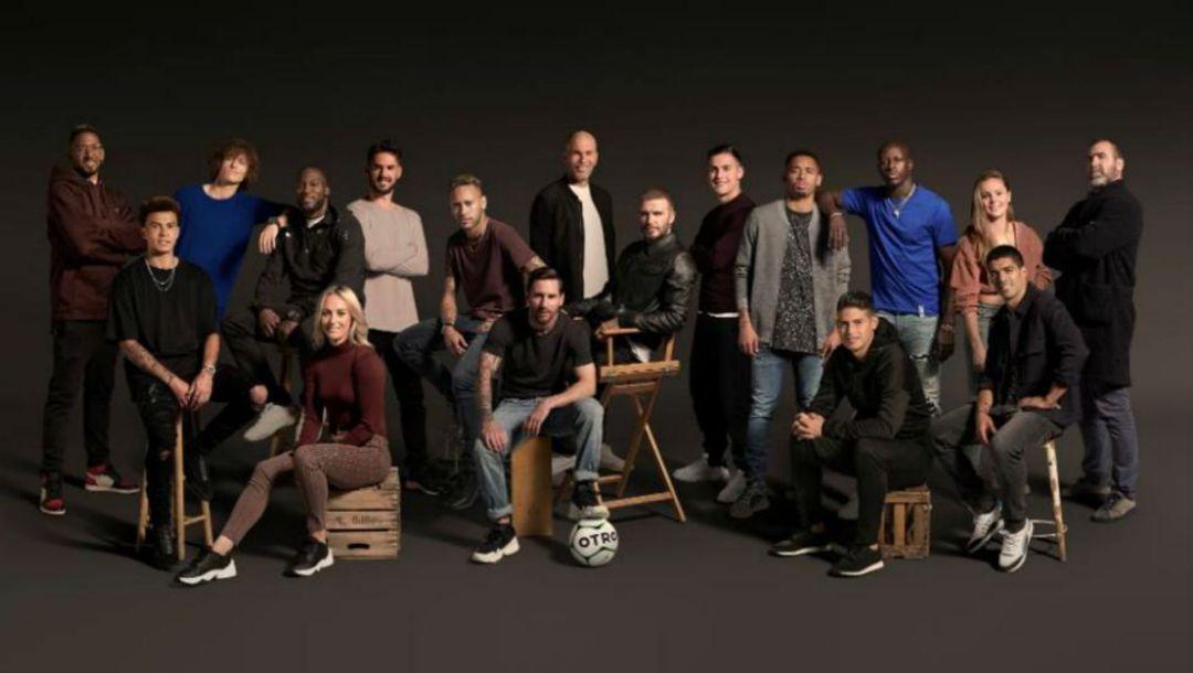 Messi, Neymar y Zidane impulsan una nueva red social