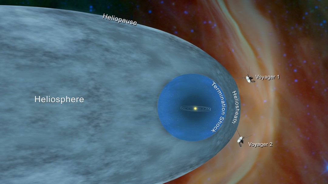 La NASA confirma que la 'Voyager 2' se ha adentrado en el espacio interestelar