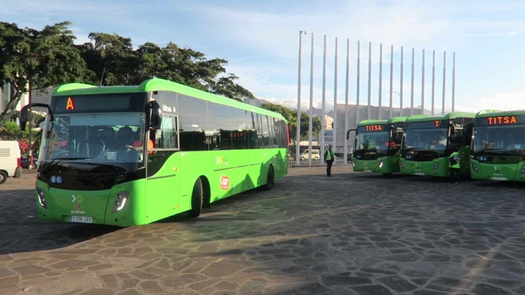 TITSA habilita un servicio temporal directo entre la Estación de Icod y el Enlace de La Orotava
