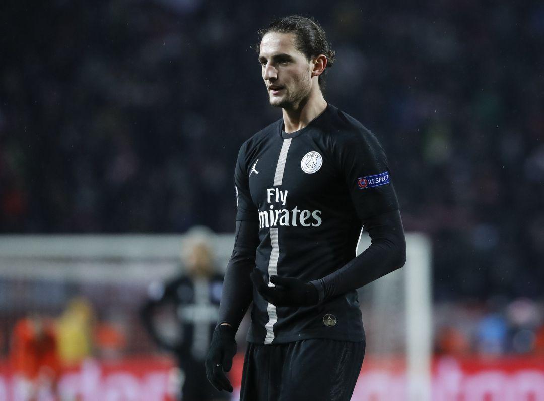 El PSG confirma que Adrien Rabiot no renovará