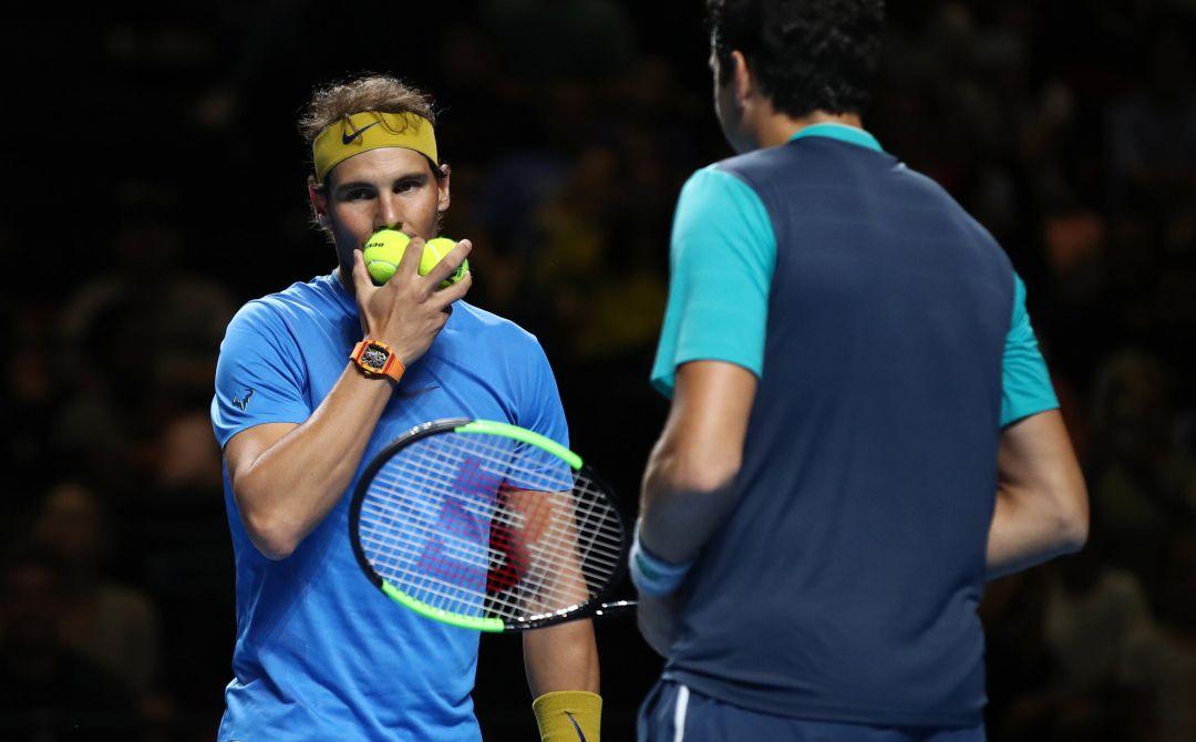 Rafael Nadal abandona Torneo de Brisbane por molestia en el muslo izquierdo