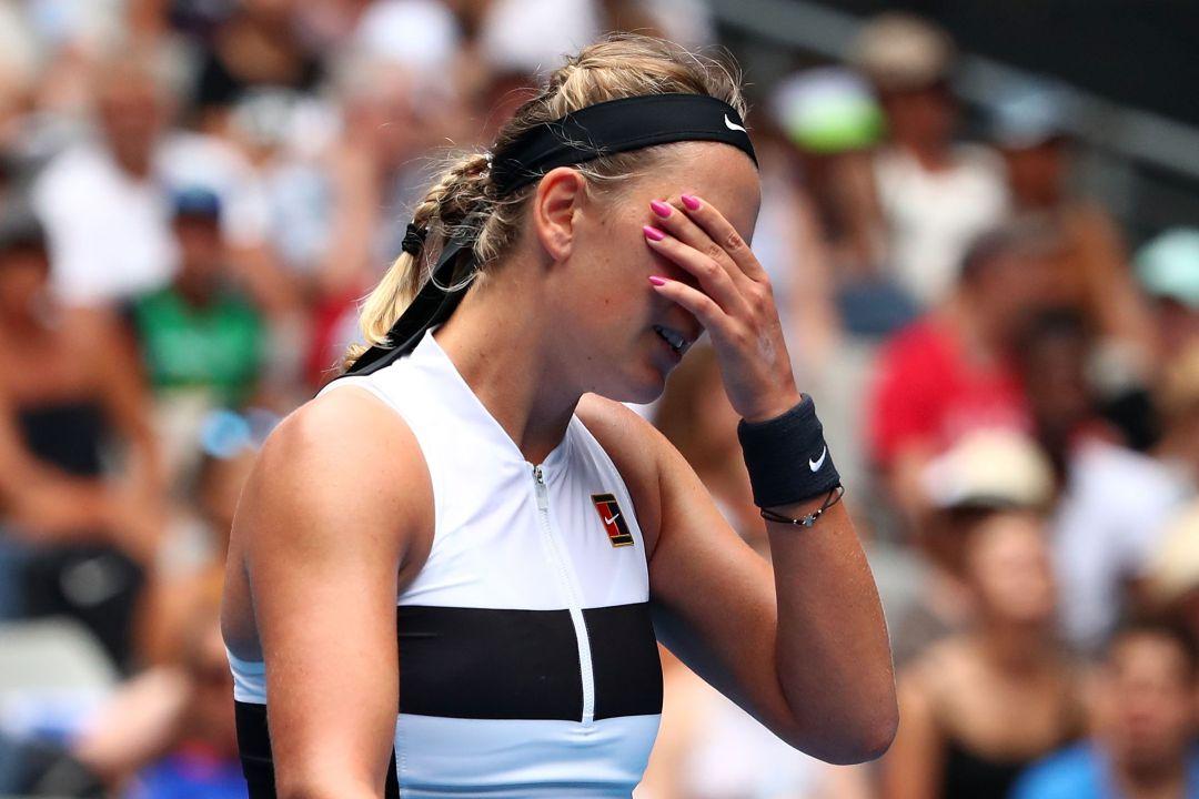 El desgarrador llanto de una tenista en Australia