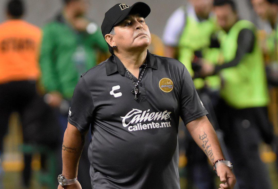 La amenaza de Maradona a la FIFA y a Infantino