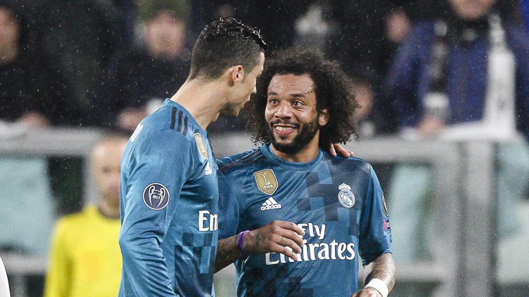 Marcelo, sobre la salida de Cristiano: Estábamos entrenando de cara a la final de Kiev y me dijo 'me voy'