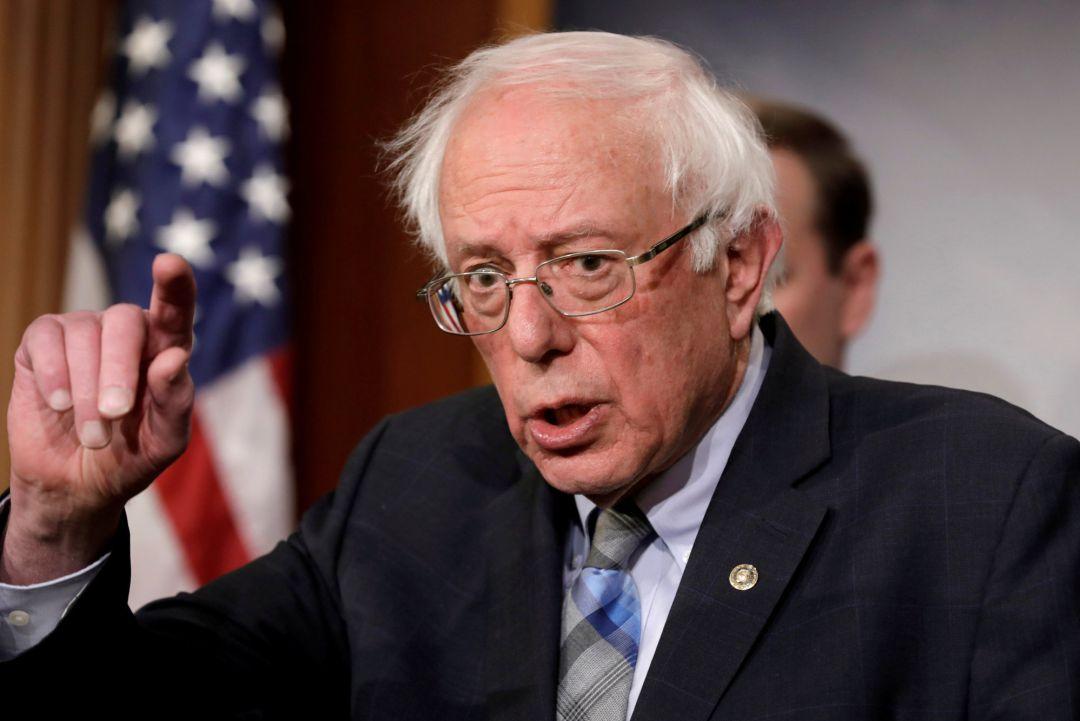 Bernie Sanders anuncia su candidatura para la presidencia de Estados Unidos