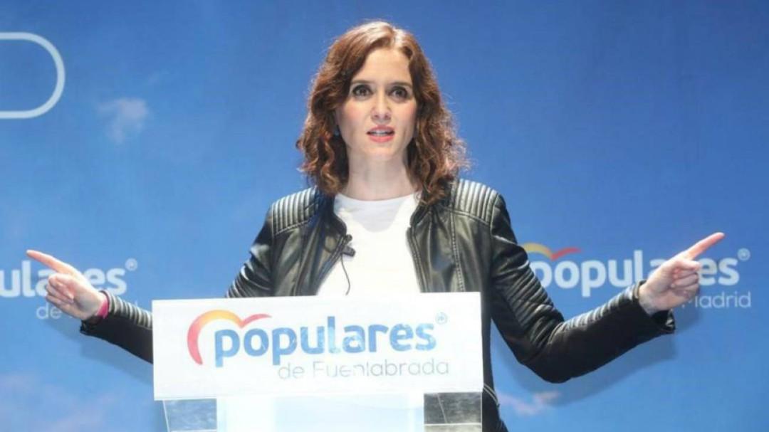 Díaz Ayuso dice que el discurso de la huelga feminista del 8M es estéril