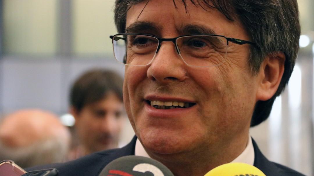 Puigdemont será el candidato de JxCat a las elecciones europeas