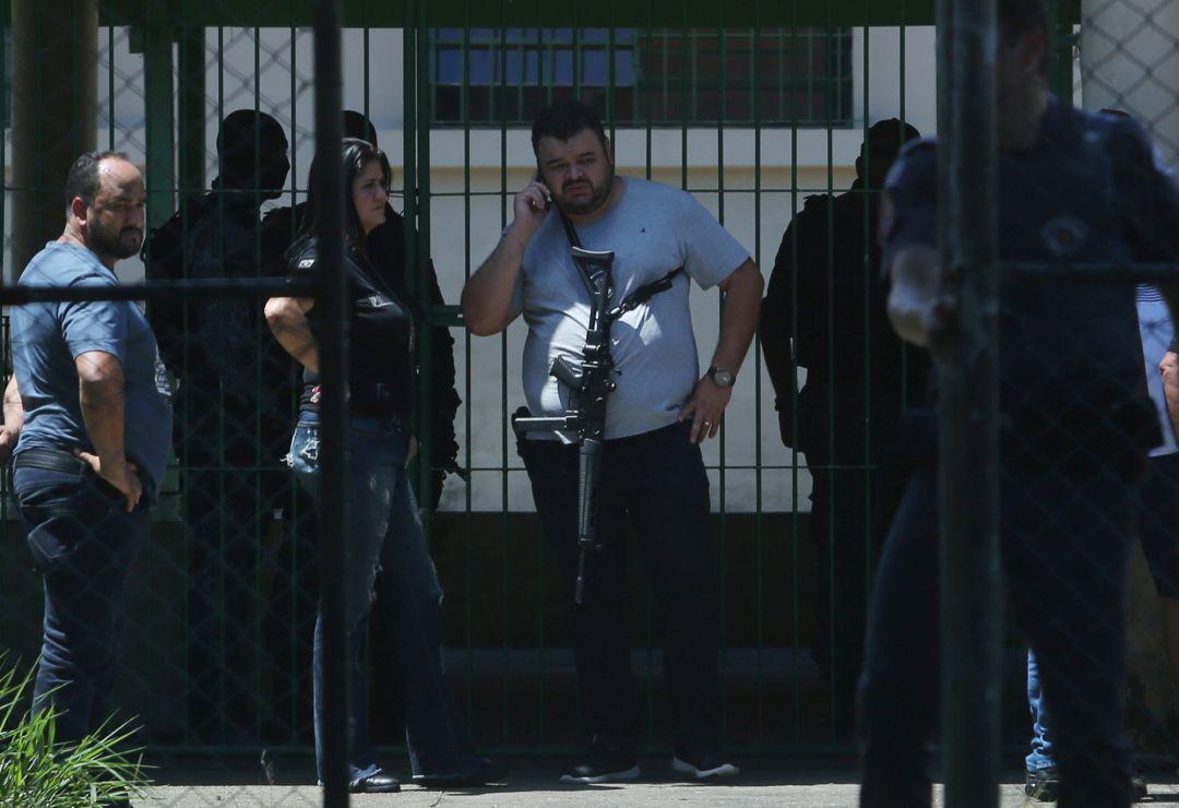 Al menos ocho muertos en un tiroteo en una escuela de Brasil
