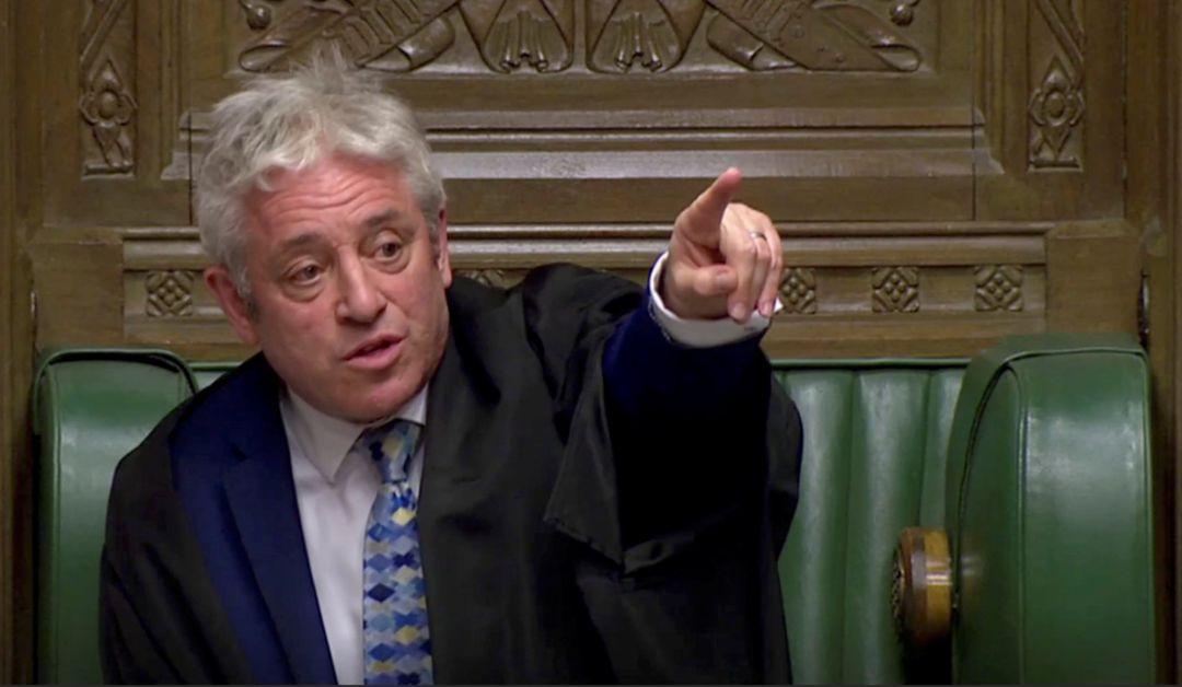 El Parlamento británico rechaza votar de nuevo el acuerdo de Brexit