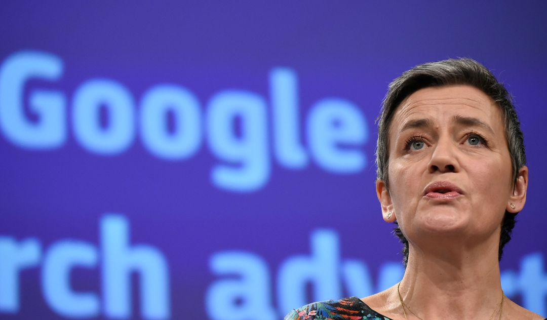 Tercera multa a Google por abusar de su posición dominante: 1.490 millones
