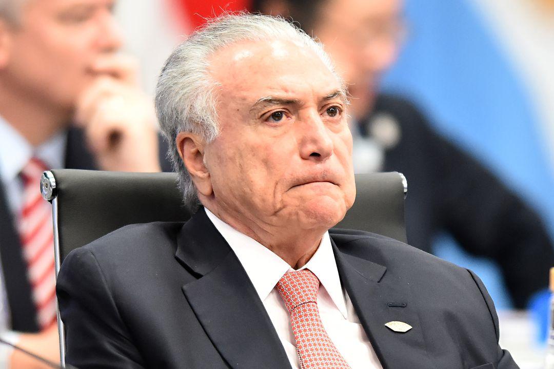 Detienen al expresidente brasileño Michel Temer por corrupción