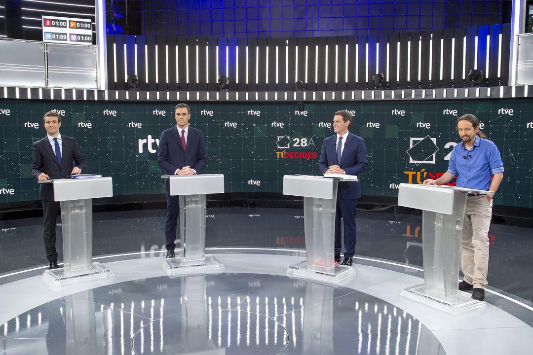 El debate en Atresmedia fue visto por 9,4 millones de espectadores