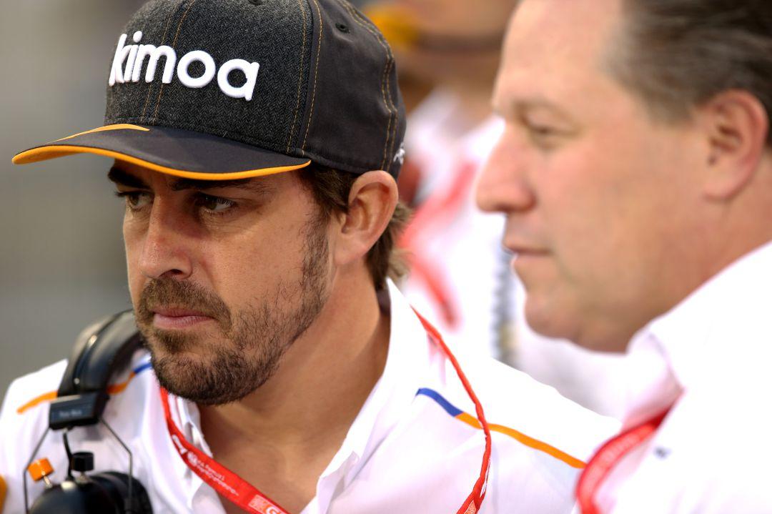 Así fue el aparatoso accidente de Fernando Alonso en Indianápolis