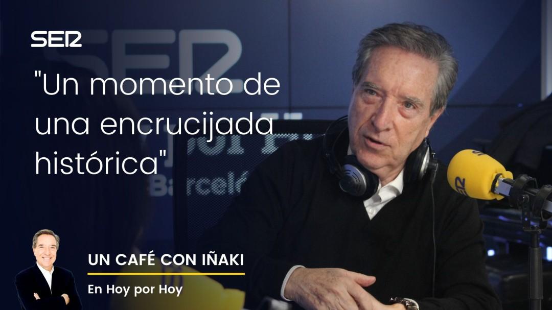 Iñaki Gabilondo apunta a la encrucijada histórica a la que se enfrenta España