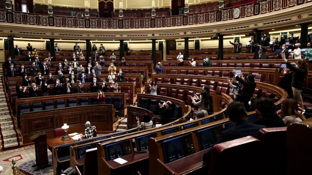 El empeño de Vox en insultar a una diputada del PSOE obliga a suspender el pleno del Congreso
