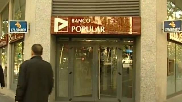 Banco popular despedir a empleados y cerrar 300 for Oficinas banco popular madrid